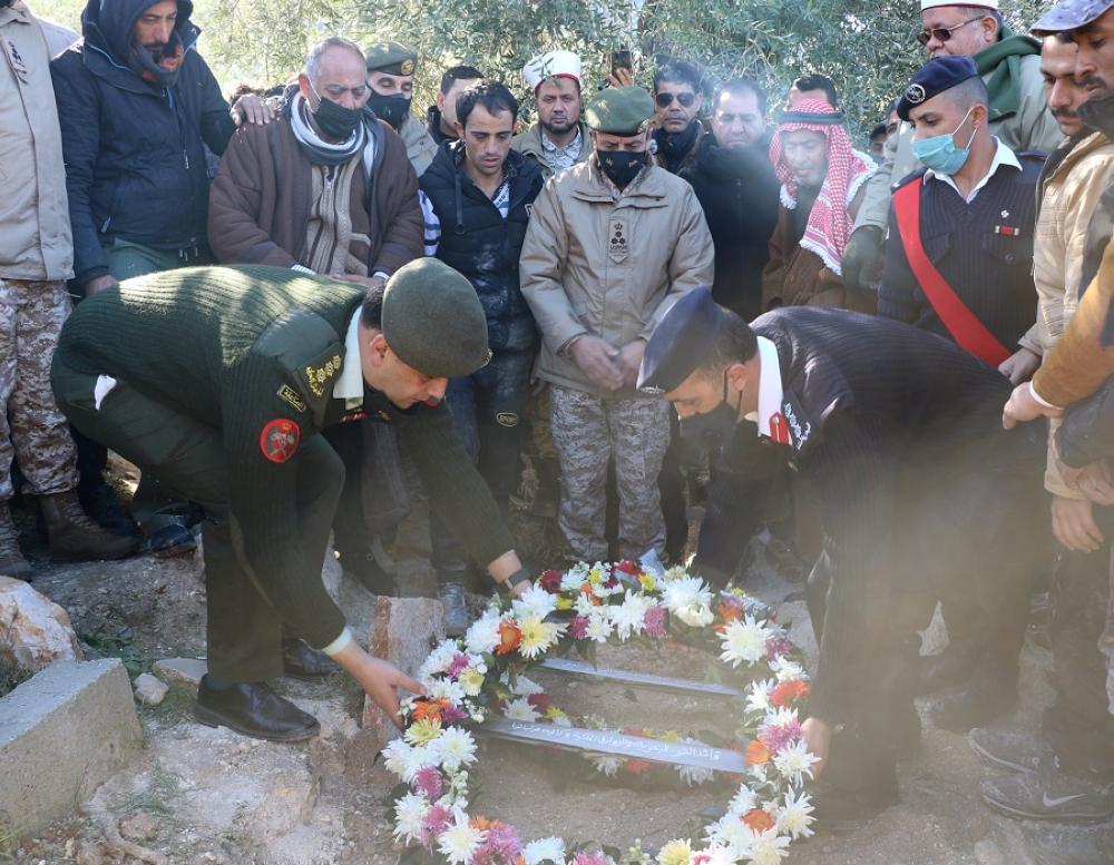 تشيع جثمان الشهيد الوكيل أحمد فايز الزغول