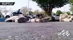 فيديو من قلب الاشتباك المسلح بين الحرس الثوري والمسلحين في الأهواز