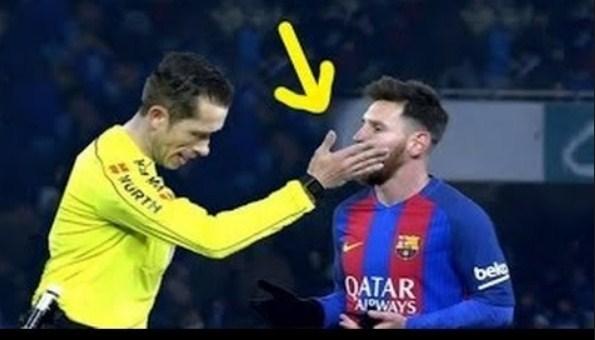 بالفيديو  ..  عندما يغضب حكام كرة القدم