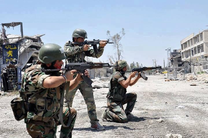 الجيش السوري يتقدم صوب معاقل تنظيم داعش في دير الزور