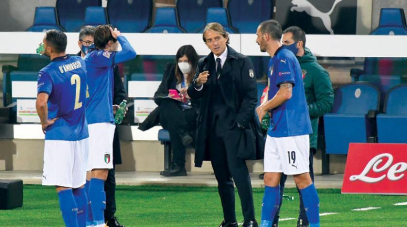 مدرب إيطاليا يُحدد 3 منتخبات مُرشحة للفوز بلقب يورو 2020