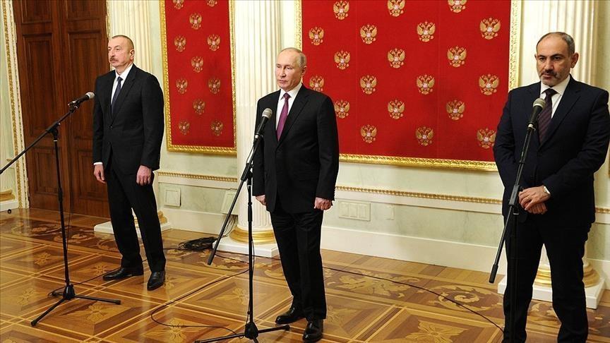 الاقتصاد يهيمن على قمة بوتين مع علييف وباشينيان