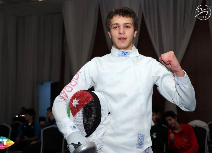 ٣ ميداليات برونزية للأردن في بطولة البحر الابيض للمبارزة