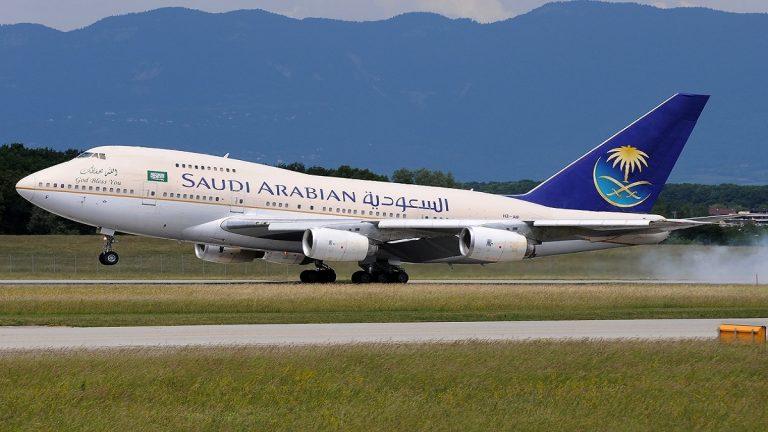 سعودية تتسبب في تأخير إقلاع طائرة ساعتين
