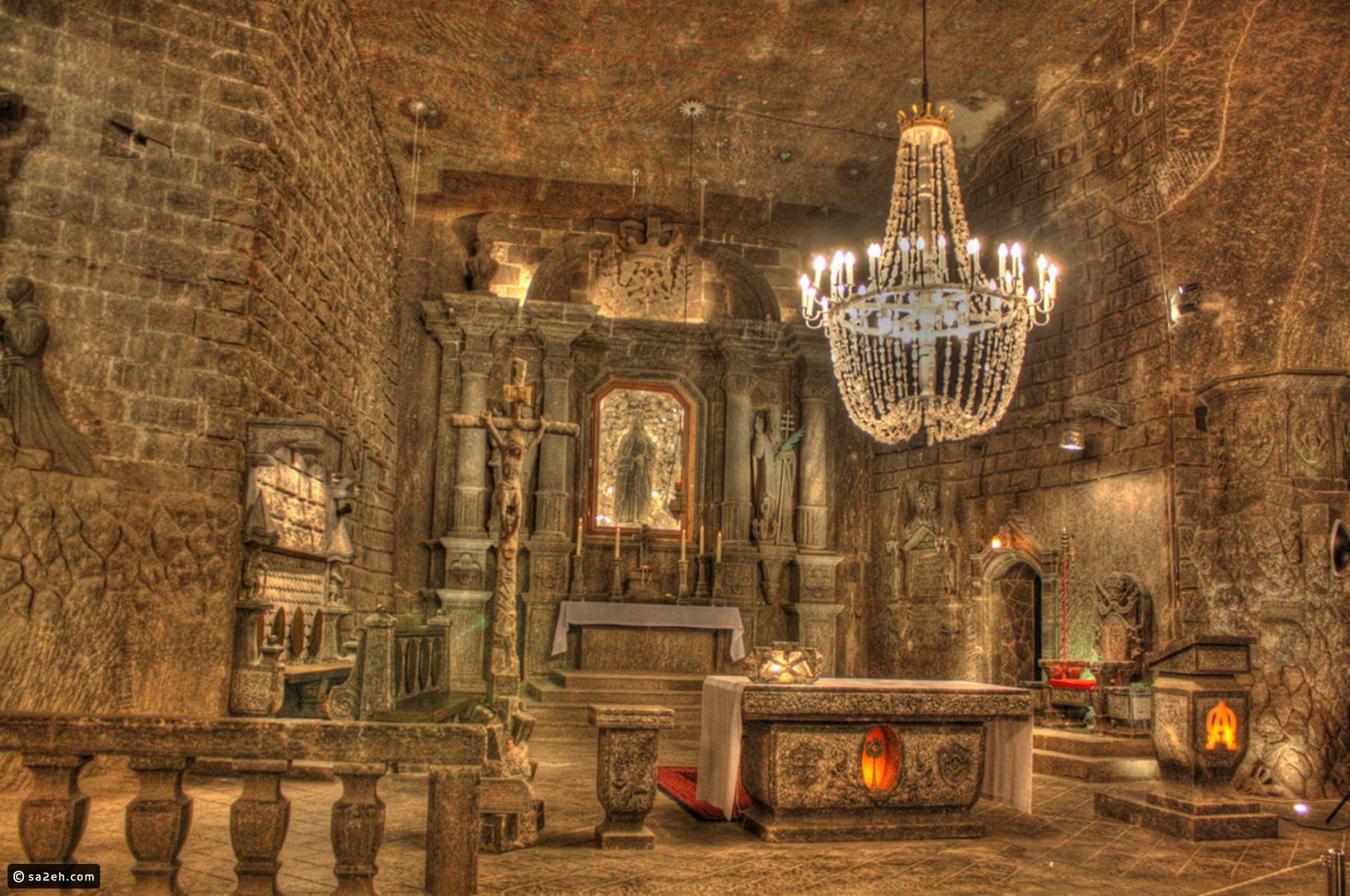 هل سمعتم عن قصر الملح؟ إليكم معلومات شيقة وصور عنه