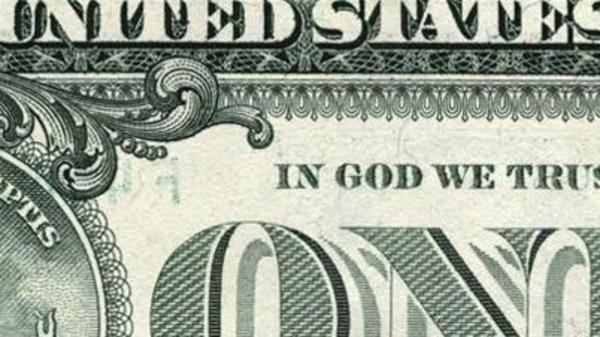 """هجمة إلحادية لإلغاء عبارة """"بالله نؤمن"""" عن الدولار"""