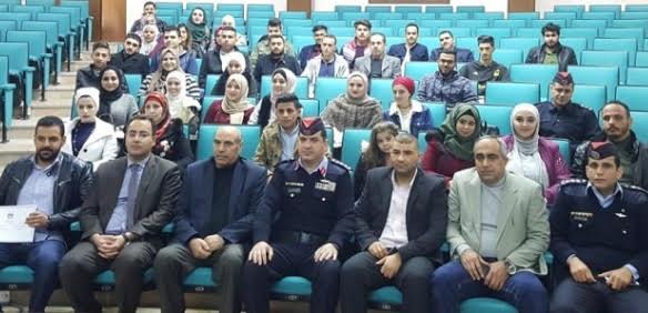 إطلاق نادي أصدقاء الشرطة في جامعة عمان الأهلية
