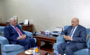 وزير التربية والتعليم يستقبل مدير عام المنظمة العربية للتربية والعلوم والثقافة (الايسسكو