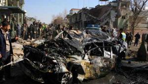 قتلى وجرحى بانفجار سيارة مفخخة في كابول