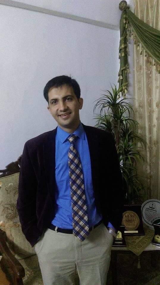 الدكتور احمد منصور العمري مساعد عميد البحث العلمي والدراسات العليا في جامعة اليرموك