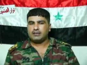 """وفاة  الضابط المنشق """" قيس القطاعنه """" في مستشفى الرمثا  الحكومي"""" صور و فيديو """""""