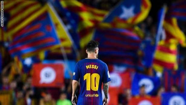 أين سيلعب برشلونة بعد انفصال كاتالونيا عن اسبانيا؟