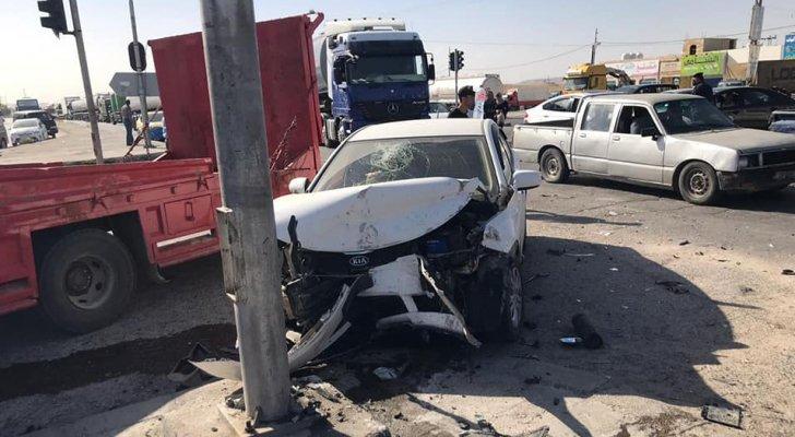 وفاة ثلاثة أشخاص وإصابة خمسة آخرين إثر حادث تصادم في محافظة العاصمة
