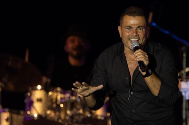 عمرو دياب يُحيي أول حفل غنائي في اكبر قبة في العالم في جدة