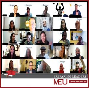 جامعة الشرق الأوسط MEU تفوز بالمركز الثاني في مسابقة الحلول العالمية المستدامة