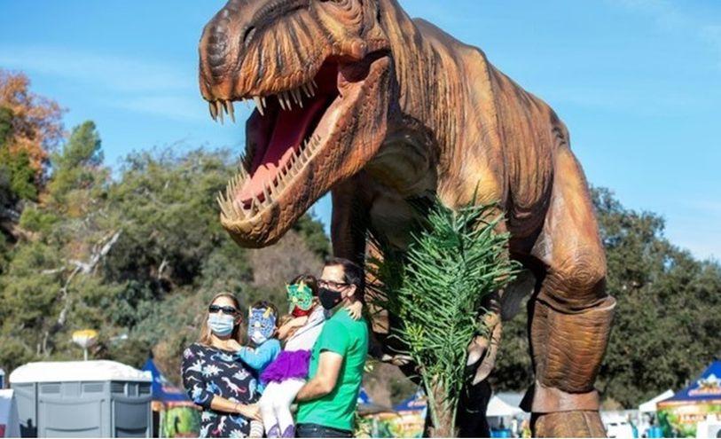 بالفيديو  ..  اكتشاف أكبر ديناصور على الإطلاق في الأرجنتين