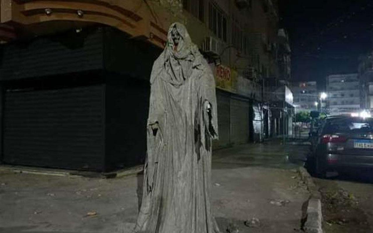 حقيقة التمثال المرعب في مصر ..  القصة الكاملة