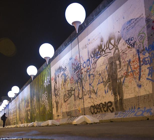بالصور .. تعرف على جدار برلين