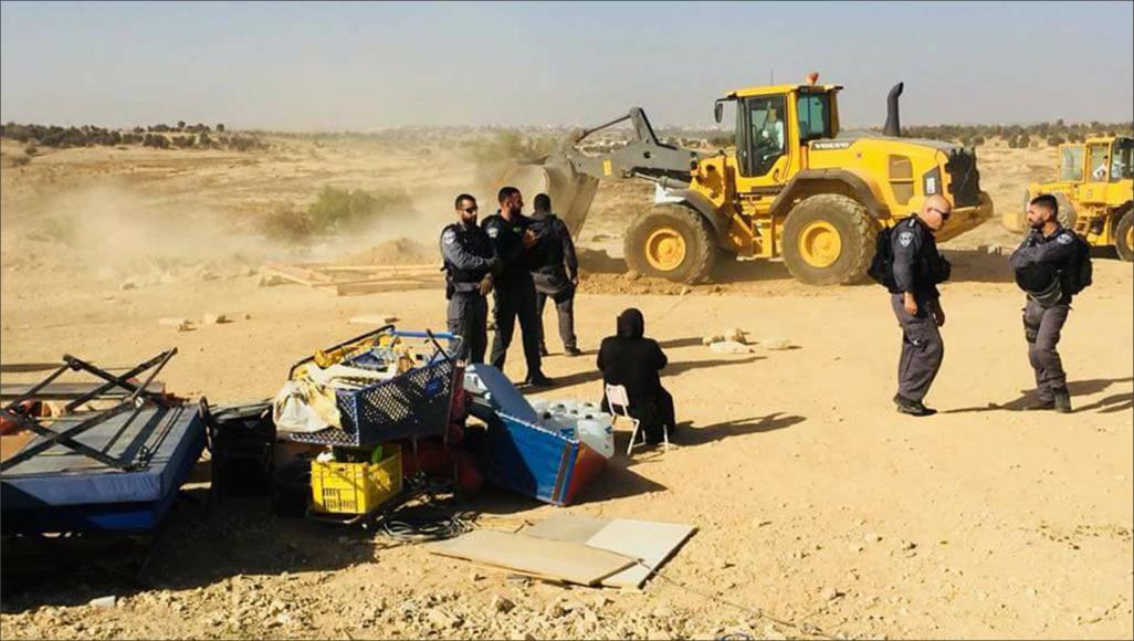 الاحتلال يهدم قرية العراقيب بالنقب للمرة الـ 144 على التوالي