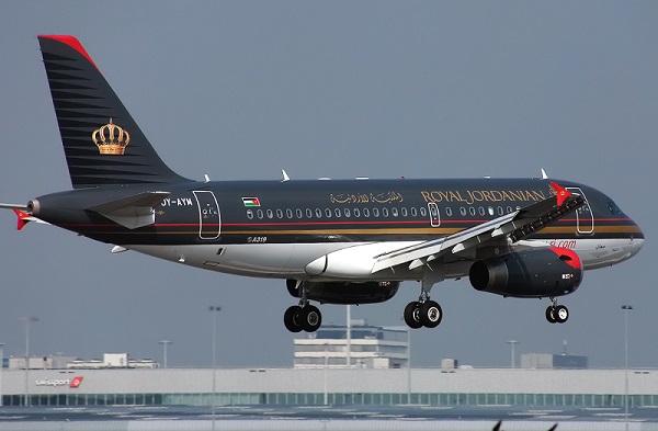 الملكية الأردنية تحوّل مسار إحدى طائراتها لأسباب فنية