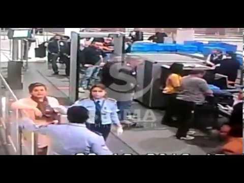 السفيرة المصرية بقبرص تصفع شرطية على وجهها (فيديو)