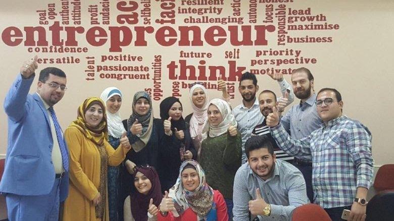 طلاب كلية العلوم الادارية في جامعة البترا يشاركون في ورشة عمل للجمعية الاردنية للمحاسبين
