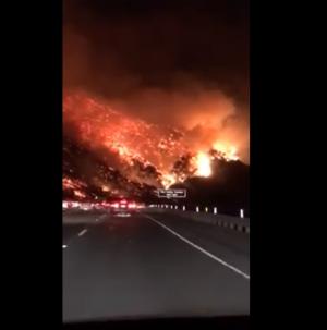 فيديو مرعب ..  ارتفاع عدد ضحايا حرائق الغابات في شمال كاليفورنيا إلى 71 شخصاً