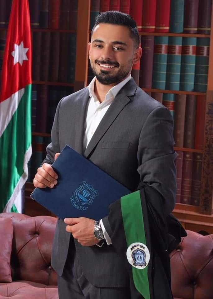 عصام عبدالرزاق عربيات ..  مبارك التخرج