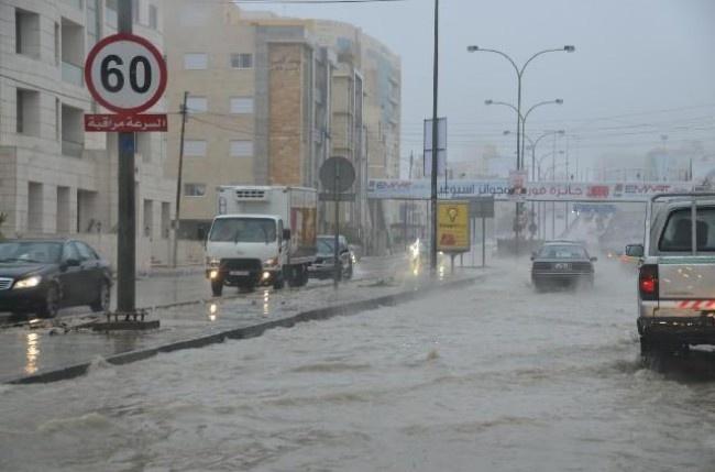 الإعلان عن حالة الطوارئ المتوسطة للتعامل مع الحالة الجوية