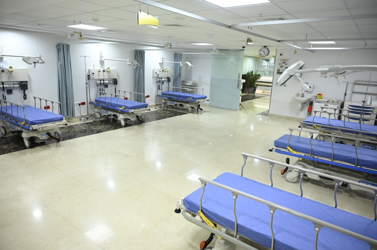 بالصور  ..  قسم الطوارئ في مستشفى الكندي  ..  تكامل في الخدمة الطبية الطارئة .