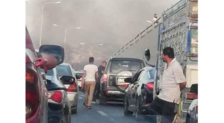 إغلاق طريق عمّان - السلط احتجاجا على عدم الافراج عن موقوف قضائي