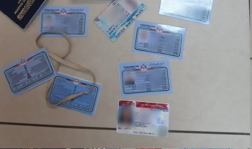 بالصور  ..  ضبط عصابة لتزوير جوازات السفر الأردنية بالقدس