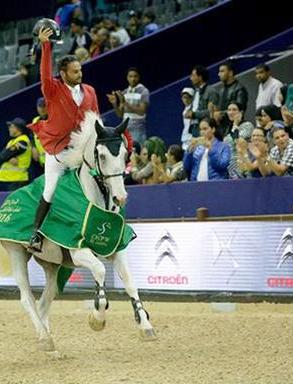 الفارس بشارات يظفر بلقب بطولة الملك محمد السادس