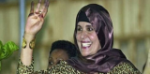 عودة زوجة القذاقي إلى ليبيا تثير الجدل
