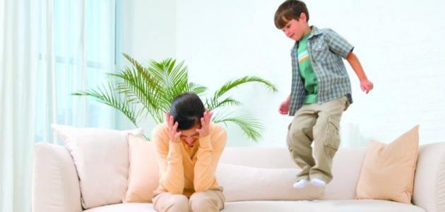 ابني يعاني من مرض كثر الحركه (فرط النشاط)