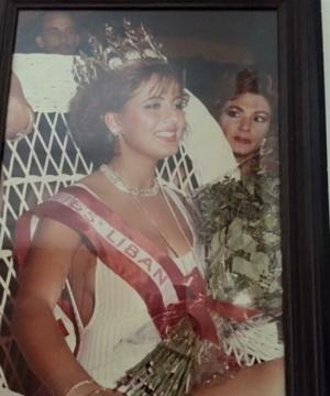 بالصور.. لن تصدقوا كيف أصبحت ملكة جمال لبنان العام 1987
