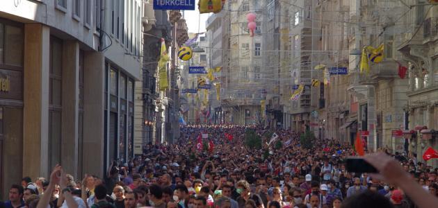 شارع الاستقلال تركيا