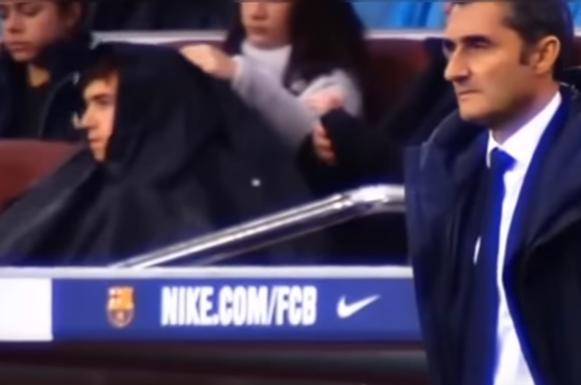 بالفيديو .. رد فعل فالفيردي مدرب برشلونة و ميسي على اداء اندريه غوميز