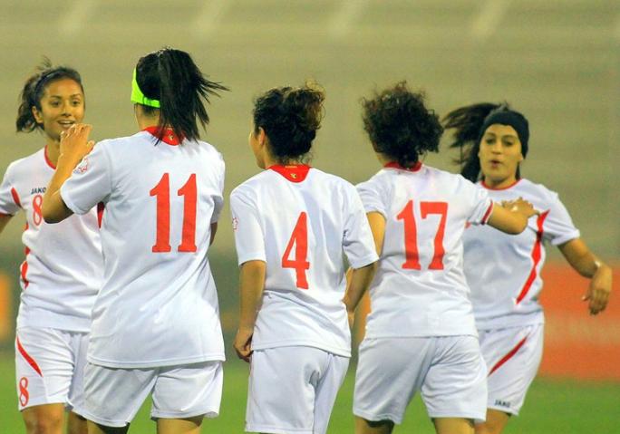 الأردن تبتعد عن اقوى مجموعة في كأس آسيا للسيدات
