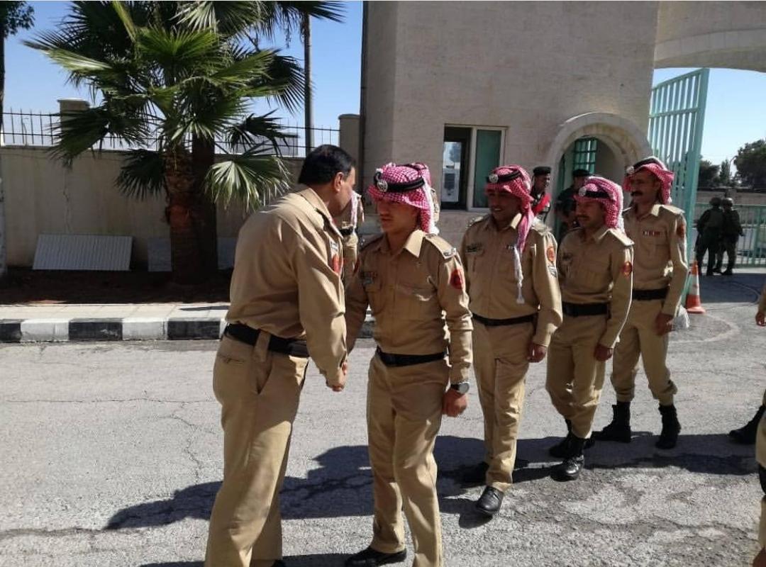 العميد سامي عسكر الهميسات  .. اضحى مبارك