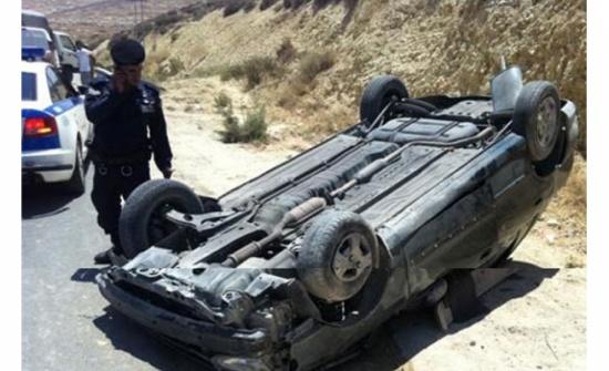 وفاة شخص اثر حادث تدهور في جرش