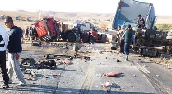 (10) وفيات على الطريق الصحراوي منذ بداية أيلول