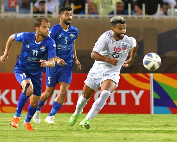 السلط يودع كأس الاتحاد الآسيوي من نصف النهائي