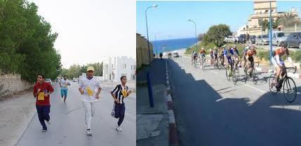 سباق البحر الميت للجري والدراجات ينطلق اليوم