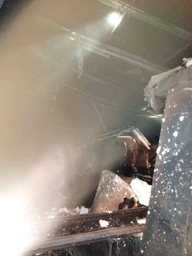 وفاة عاملين تفحماً إثر حريق محل قهوه في محافظة البلقاء