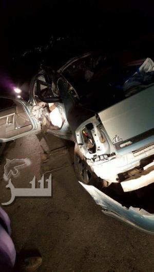 وفاة حدث واصابة 3 اخرون في حادث مروع بلواء بني كنانة .. صور