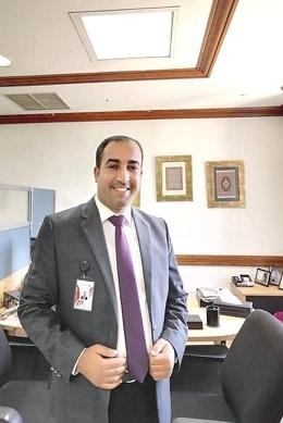 الدكتور حمزة المشاقبة  .. مبارك