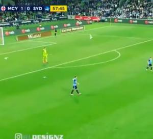 بالفيديو.. حارس مرمى يتدخل لإنقاذ طائر مصاب في الملعب!