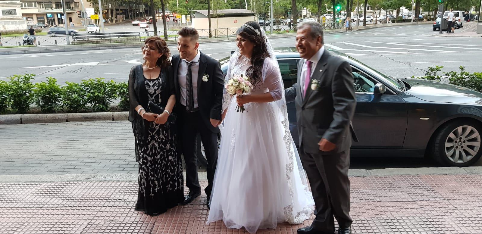 بالصور  .. حفل زفاف ابنة المهندس حاتم الخالدي في مدريد