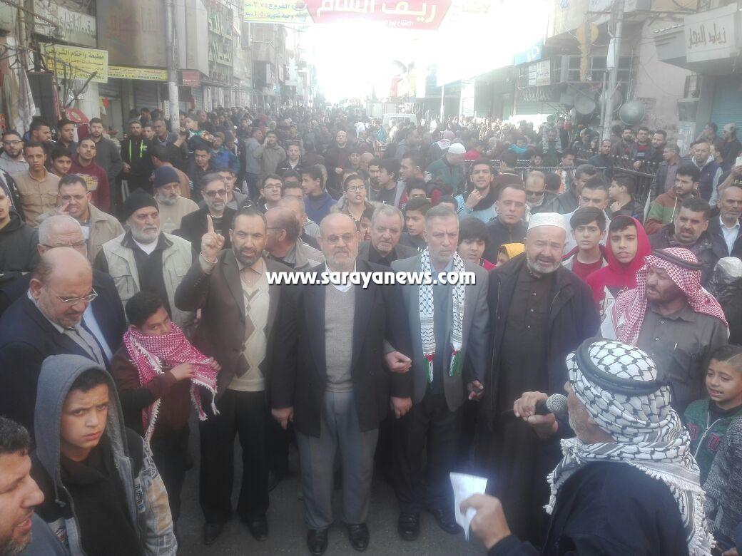 بالصور ..  الأردنيون يواصلون التضامن مع القدس